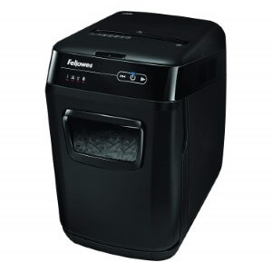 Design of the Fellowes AutoMax 130C Shredder