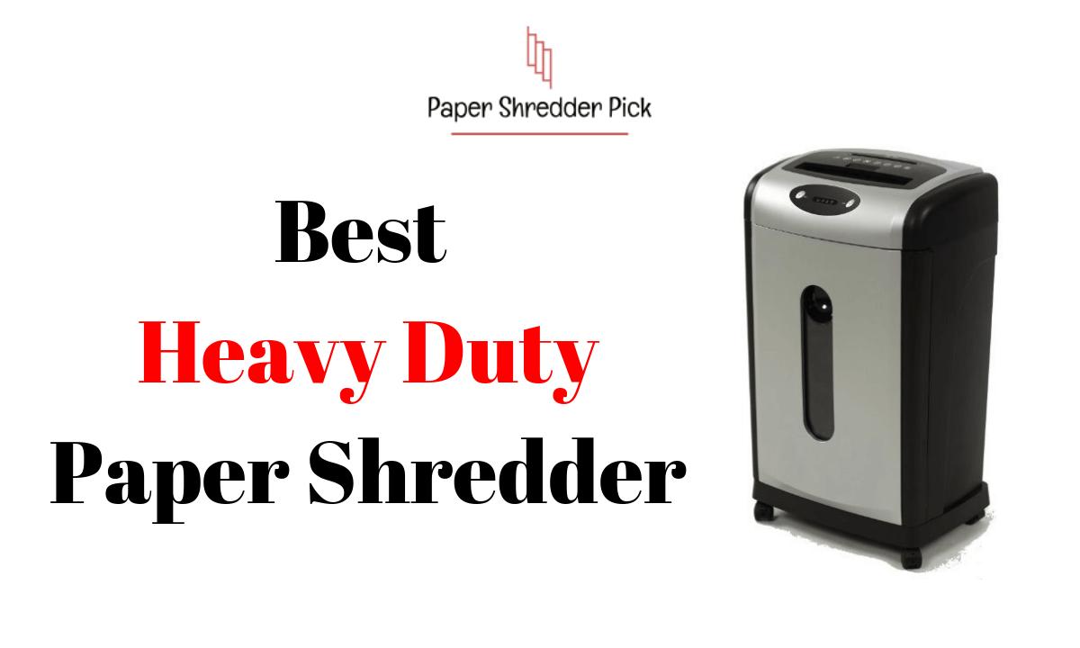 Best Heavy Duty Paper Shredder 1
