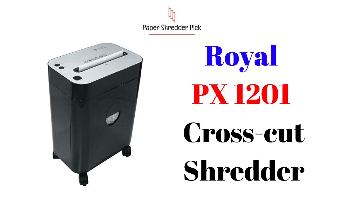 Royal PX1201 Best Cross-Cut Paper Shredder on Wheels Review 1