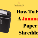 How to Unjam a Paper Shredder 4