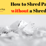 How to Shred Paper without a Shredder 9